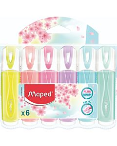 FLUOSTIFTpeps classic PASTEL (maped) etui