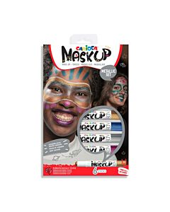 SCHMINK - CARIOCA - MASK UP METALLIC