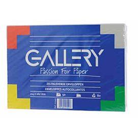 ENVELOPPEN  114 X 162 MM - GALLERY - D/vijftig stuks
