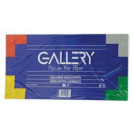 ENVELOPPEN 114 X 229 MM GALLERY  D/vijftig stuks