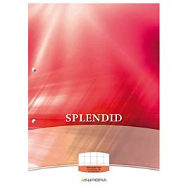 CURSUSBLOK - SPLENDID - A4 FT GERUIT 10MM
