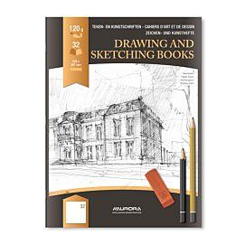 TEKENSCHRIFT - A4 FT wit tekenpapier