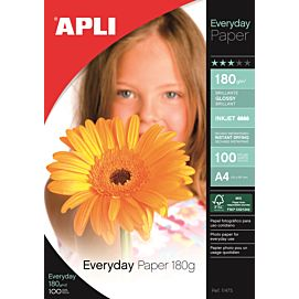 FOTOPAPIER - GLANZEND 180 GR VOOR INKJET - Everyday