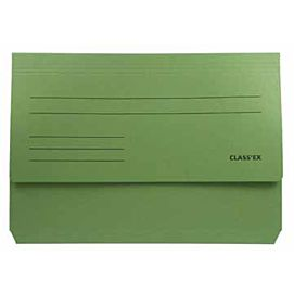 "MAPPEN ""POCKET FILE"" FOLIO groen"