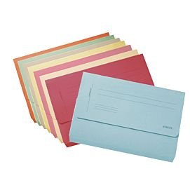 "MAPPEN ""POCKET FILE"" FOLIO blauw"