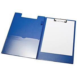 KLEMPLAAT MET OMSLAG  PVC GELAST blauw