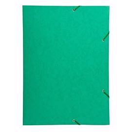 ELASTOMAP met 3 kleppen - GLANSKARTON - A3 - Groen