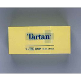 POST-IT NOTES - TARTAN - 38 X 50 MM
