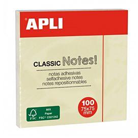 POST-IT NOTES - APLI - CLASSIC - 75 MM X 75 MM