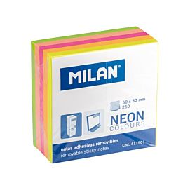 POST-IT NOTES - MILAN - 50 X 50 MM - NEON