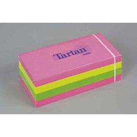 TARTAN 'NEON'-NOTES 38X51 MM  (05138-N)
