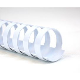INBINDSPIRALEN - PLASTIC 6 MM - WIT