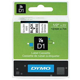 DYMO TAPES 12MM X 7M