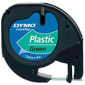 DYMO-TAPES 12MM X 4M PLASTIC