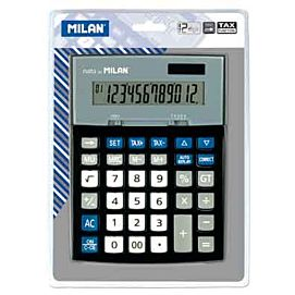 REKENMACHINE 'DESK TOP CALCULATOR ZWART