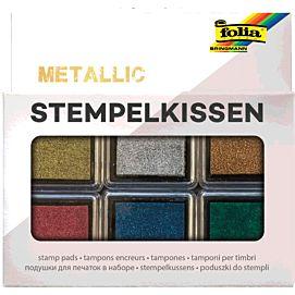 STEMPELKUSSEN Metallickleuren