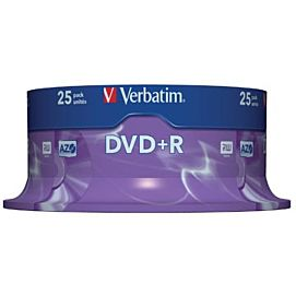 DVD plus R ( DVD + R )    SPINDLE/25