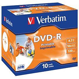 DVD min R (DVD-R)  16X / 4.7 GB / 120 MIN
