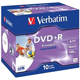DVD plus R (DVD+R)  16X /4.7 GB /120 MIN