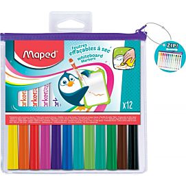 WHITEBOARD MARKER - MAPED - FUN COLOURS PEPS