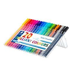SCHRIJFSTIFT - TRIPLUS BROADLINER - 20 kleuren