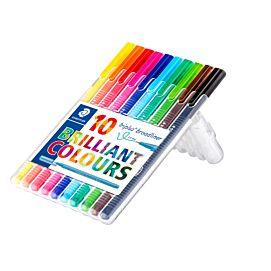 SCHRIJFSTIFT TRIPLUS BROADLINER 10 kleuren