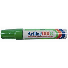 ARTLINE 100  SCHUINE PUNT  10MM  GROEN