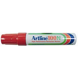 ARTLINE 100  SCHUINE PUNT  10MM  ROOD