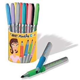 BIC MARKING COLOR  POT 9 + 1