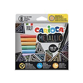 KLEURSTIFT - CARIOCA - METALLIC FINE TIP
