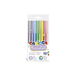 KLEURSTIFT 'CARIOCA pastel'  8 KLEUREN
