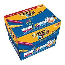 KLEURSTIFT - BIC KIDS VISA - BOX/288 ST.