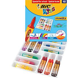 KLEURSTIFT BIC DECORALO P/48