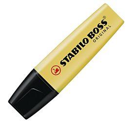 FLUOSTIFT - STABILO BOSS - PASTELGEEL (Milky yellow)