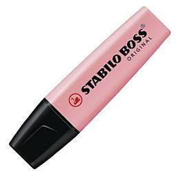 FLUO-STIFT stabilo BOSS Pastelroze - Pink Blush