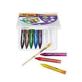 KLEURKRIJT BIC KIDS DUO MAGIX - etui/8 kleuren