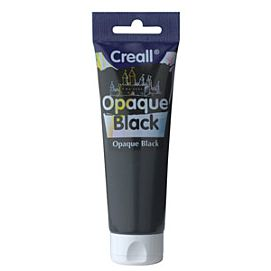 CREALL-OPAQUE BLACK DEKKENDE VERF