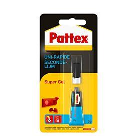SECONDENLIJM - PATTEX - SUPER GEL 3 GR
