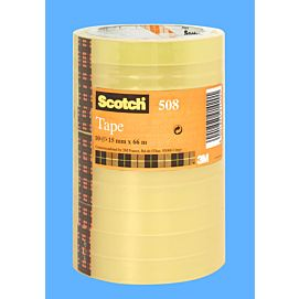 KLEEFBAND SCOTCH  (508) economy - 15MM X 66M