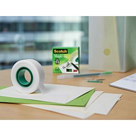 KLEEFBAND - SCOTCH MAGIC TAPE INVISIBLE - 19MM X 33M