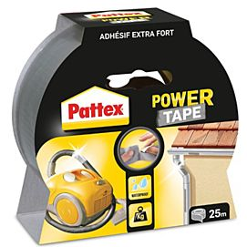 PATTEX POWER TAPE 25M X 5CM GRIJS