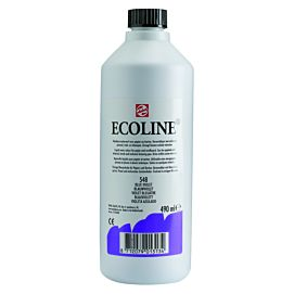 ECOLINE 490 ML kleine fles BLAUWVIOLET