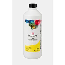 ECOLINE - 490 ML kleine fles - CITROENGEEL  (205)