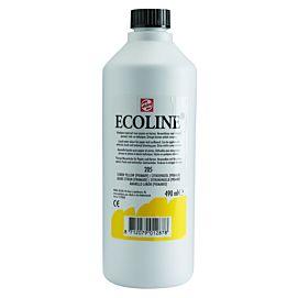ECOLINE 490 ML kleine fles CITROENGEEL