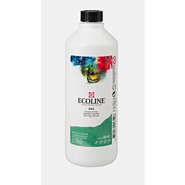 ECOLINE - 490 ML kleine fles - DONKERGROEN  (602)