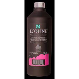 ECOLINE 490 ML kleine fles DONKERGROEN
