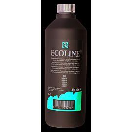 ECOLINE 490 ML kleine fles KARMIJN