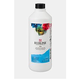 ECOLINE - 490 ML kleine fles - HEMELSBLAUW CYAAN  (578)