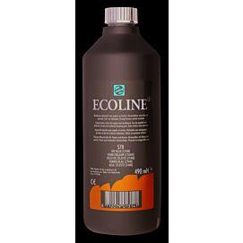 ECOLINE 490 ML kleine fles HEMELSBLAUW CYAAN (578)