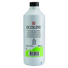 ECOLINE 490 ML kleine fles LICHTGROEN